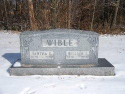 Bertha Estella <i>Coulter</i> Wible
