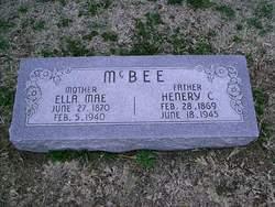 Ella Mae McBee
