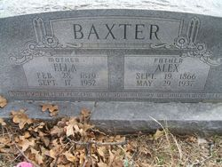 Ella Zeiada <i>Wardrup</i> Baxter