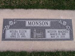 Melba Ellen <i>Morton</i> Monson