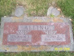 Edna Zelia <i>Whitney</i> Alling