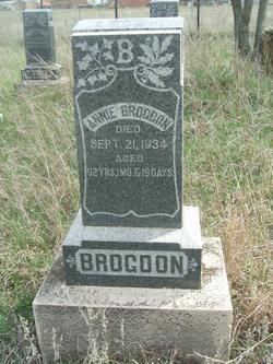 Sarah Ann <i>Rogers</i> Brogdon