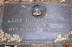 Lily Ruth Ruth <i>Chaney</i> Arthur