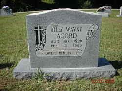 Billy Wayne Acord