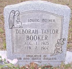 Deborah Taylor <i>Mauldin</i> Booker