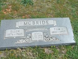 Ellen Josephine <i>Clifton</i> McBride