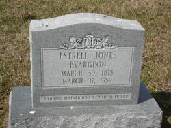 Estrell <i>Jones</i> Byargeon