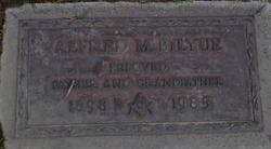 Alfred M Bilyue