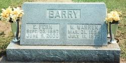 Elsie Fern <i>Applegate</i> Barry