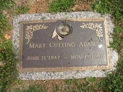 Mary <i>Cutting</i> Adams
