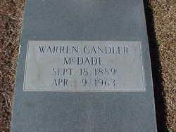 Warren Candler McDade