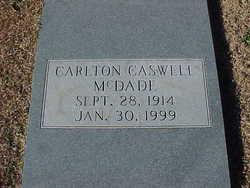 Carlton Caswell ''Bubber'' McDade
