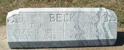 Anna <i>Brooks</i> Beck