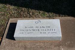 Mary Blanch <i>Hightower</i> Hazlitt