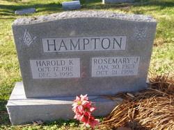 Harold Kensil Hampton