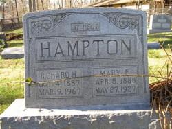 Mary F. <i>Maconauchey</i> Hampton