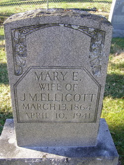 Mary Elizabeth <i>Barbee</i> Ellicott