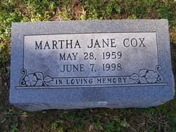 Martha Jane Cox
