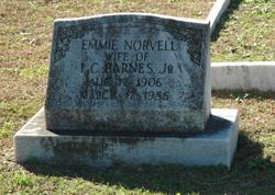 Emmie <i>Norvell</i> Barnes