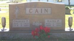Hazel P. <i>Eldridge</i> Cain