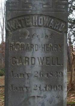 Kate <i>Howard</i> Cardwell