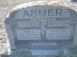 Mattie Asher