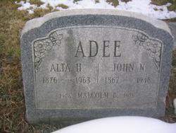 Alta <i>Harvey</i> Adee