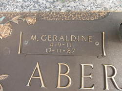 M. Geraldine Abernathy