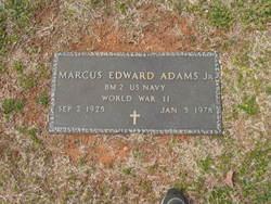 Marcus Edward Adams, Jr