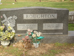 Maybelle <i>Jones</i> Boughton