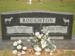 Dr Roger Sherwood Boughton