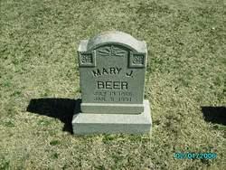 Mary Jane <i>Seaman</i> Beer