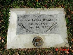 Cora Leona <i>Curtis</i> Woods