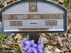 Ada Sue Benson