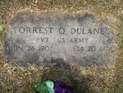 Pvt Forrest Quincy Dulaney