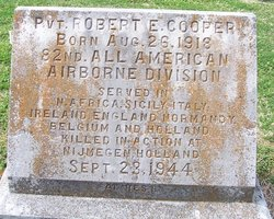 Pvt Robert E. Cooper