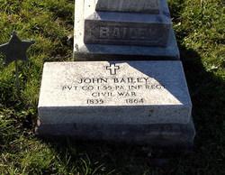 Pvt John Bailey