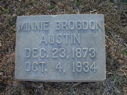 Minnie <i>Martin</i> Austin