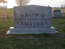Brown General Baptist Church Cemetery