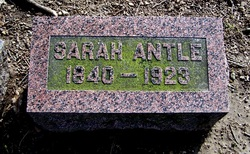 Sarah <i>Weakley</i> Antle