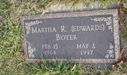 Martha R <i>Edwards</i> Boyer