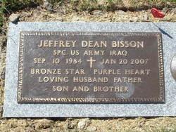 Spec Jeffrey Dean Bisson