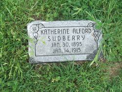 Katherine <i>Alford</i> Sudberry