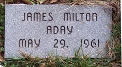 JAMES MILTON ADAY