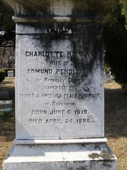 Charlotte Ramsay <i>Robinson</i> Pendleton