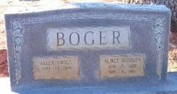 Agnes <i>Hudson</i> Boger