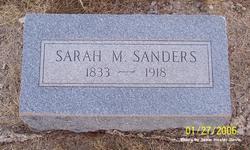 Sarah Martha <i>Austin</i> Sanders
