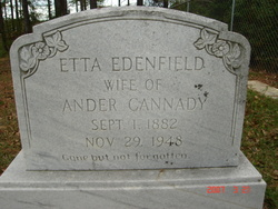Etta <i>Edenfield</i> Cannady
