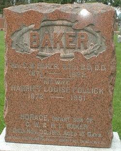 Harriet Louise <i>Follick</i> Baker