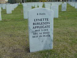 Lynette <i>Burleson</i> Applegate